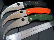 5PCS/LOT Hot Sale CSS-1-2 Folding blade knife Tactical camping hunting outdoors Camping pocket survival knives Utility Tools