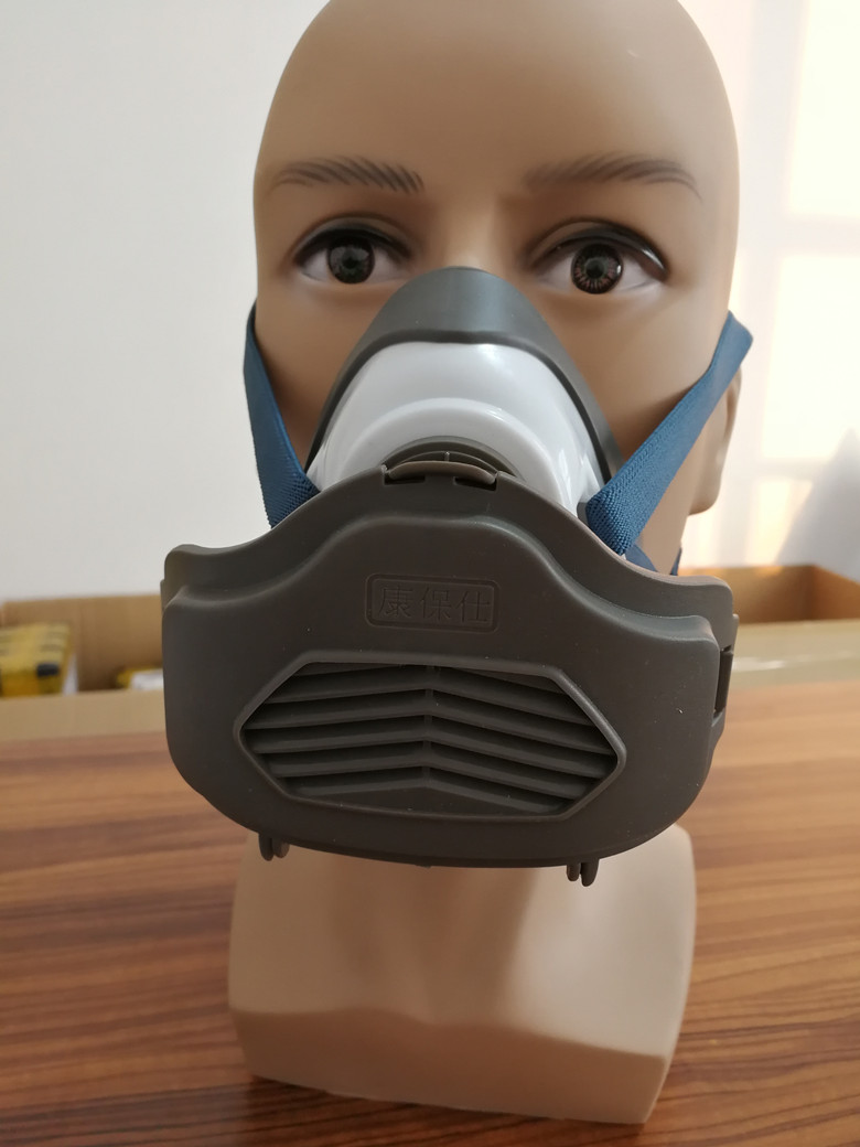 N3800 Anti-dust Facepiece Filter Paint Spraying Cartridge Respirator Gas Mask Clients First Fire Respirators