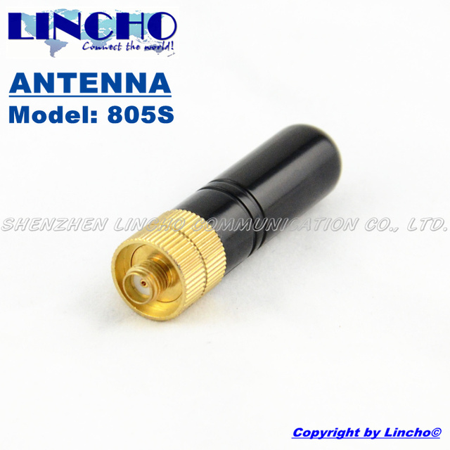 US $6 0 |small RH805S uhf vhf dual band diamond antenna, two way radio  antenna SMA female antenna diamond-in Antennas for Communications from