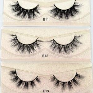 Image 4 - Free DHL 100 Pairs Wholesale 3D Real Mink Eyelashes High Quality Handmade False Eyelashes Extension 68 Styles Mink eyelashes