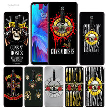 Guns N Roses Case Voor Xiaomi Redmi Note 8 8T 9S 7 9 Pro 7A K30 Zoom Mi 10 5G CC9 9T 9T A3 Poco X2 F2 Siliconen Cover Phone Bag(China)