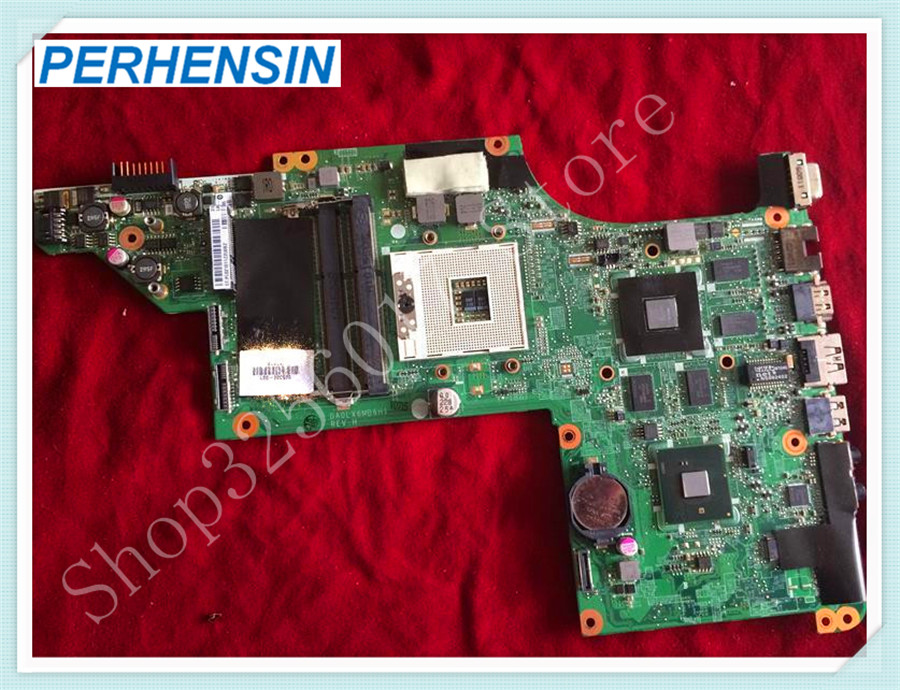 For HP For Pavilion DV7-4100ER DV7-4121er DV7-4000 Motherboard DA0LX6MB6H1 605320-001 100% tested good 509450 001 motherboard for hp pavilion dv6 daut1amb6d0 tested good