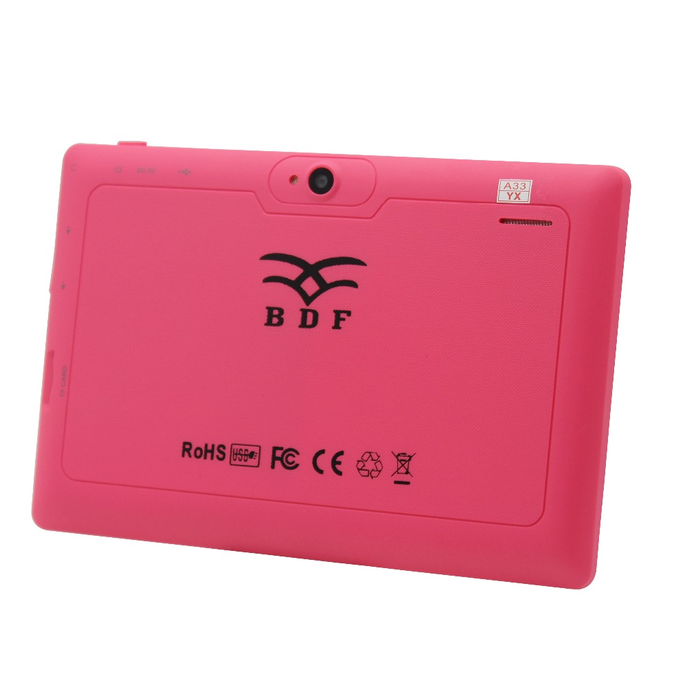 Nice Q8 7 Inch Tablets Pc WIFI  Quad Core Dual Camera White Blck Pink Color Tablet Pc  Android Tablet Pc 8 9 10 10.1