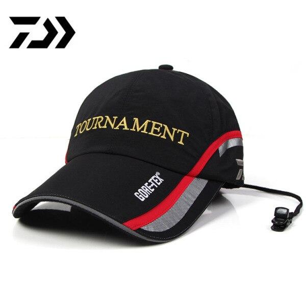 85edcae2b2858 Detail Feedback Questions about Brand Daiwa Hat Sports Fishing Caps Hats  Outdoor Breathable Sunshade Men Fishing Hats Adjustable Baseball Hat DAWA  Cap on ...