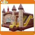 Alta calidad combo castillo inflable con tobogán