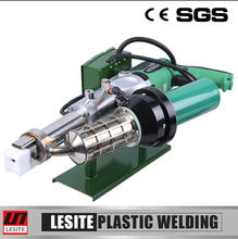 Fuzhou Lesite Plastic Welding Technology Hand Extrusion Gun Welder HDPE PP Tank Welding Machine