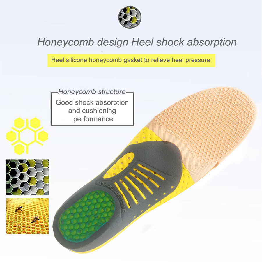 Multifunction orthotic insole for Flat Feet Arch Support orthopedic shoes sole sports Insoles for men and women