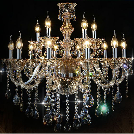 Cognic luxury new Chandeliers K9 Crystal Chandelier crystal chandeliers 6/8/10/15/18 arms Living Room modern Lustres De Cristal modern new k9 modern crystal lustres de cristal decoration chandeliers and pendants silver gold 6 8 15 18 arms for living room