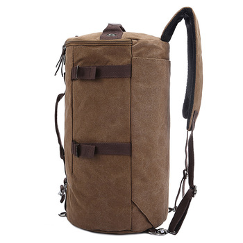 Large capacity man travel bag mountaineering backpack men bags canvas bucket shoulder bag 012 1