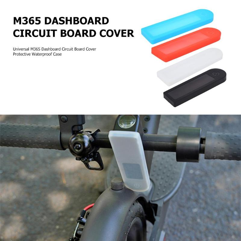 Wasserdicht Panel Dashboard Platine Silikon Abdeckung Für Xiaomi Mijia M365  Elektrische Roller