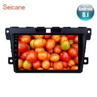 Seicane For 2007 2009 2010 2011 2012 2013 2014 MAZDA CX 7 2Din Car GPS Radio Android 8.1 9 inch Multimedia Player Support DVR