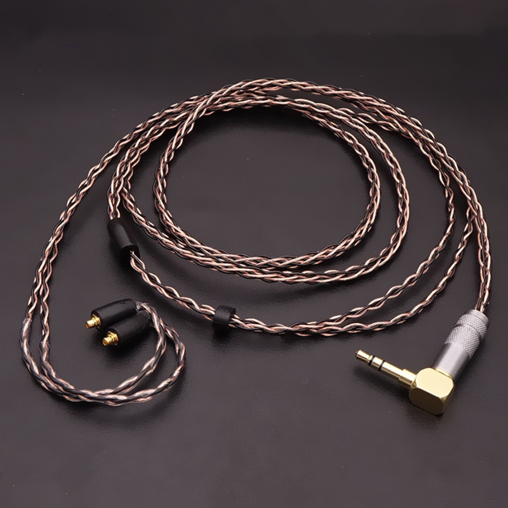 Newest FENGRU 1.2M 7N single crystal copper replaceable MMCX upgrade cable HiFi Earphone Wire For Shure SE535 SE215 SE846 UE900 sex toy adult male masturbators realistic vagina pussy pocket soft vagina masturbation cup sex toy for men d4 1 67