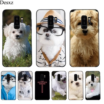 Case Cover For Samsung Galaxy A3 A5 A6 Plus 2016 2017 2018 I Love Maltese Dog