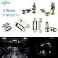 XIEYOU 19pcs LED Canbus Interior Lights Kit Package For 5 Series F10 (2011+)