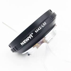 Image 2 - Newyi M42 Lm adaptörü M42 Lens L eica M Lm kamera M9 için Techart Lm Ea7 kamera Lens halkası aksesuarları