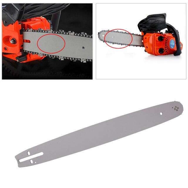 LETAOSK barra guía para sierra de cadena, 18 pulgadas, 325 paso, 72DL 050, apta para Husqvarna 36 41 50 51 55