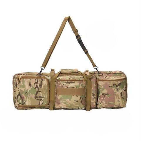 Bolsa de Arma Acessórios de Caça Bolsa de Ombro Bolsa de Tiro Tático Airsoft Rifle Arma Carry Case Militar Mochila Protetor 85cm