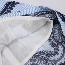 Babyinstar Girls Striped Embroidered Striped Dress Light Blue