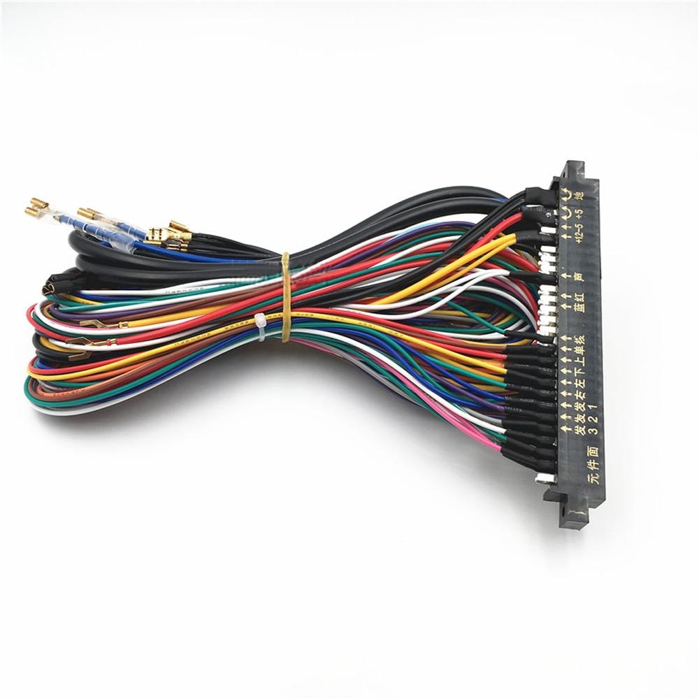 Best Selling Arcade Partsgame Machine Wire Harnessjamma Pcb Wiring Harness For Kawasaki 636 Board