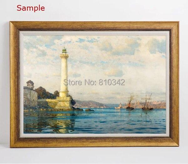 Madera moderna Marcos para pinturas al óleo y las impresiones foto ...