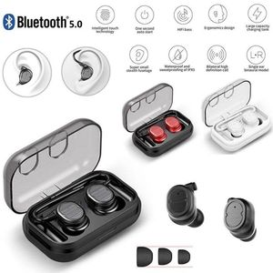 Image 2 - TWS Auricolari Bluetooth Senza Fili di Tocco Stereo Bluetooth 5.0 Auricolare di Fitness Sport Allaria Aperta Mini Auricolari Singoli Orecchie per I Telefoni