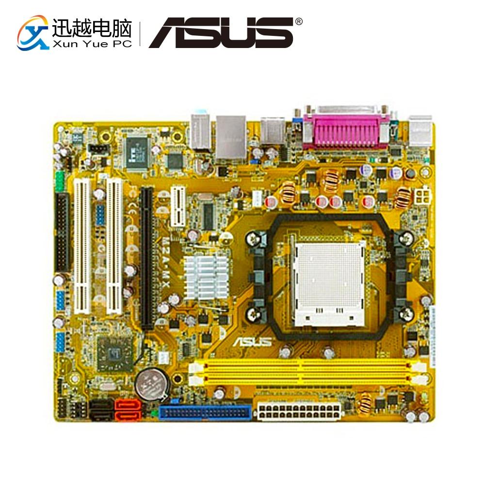 Asus M2A-MX Desktop Motherboard 690V Socket AM2/AM2+ i7 i5 i3 DDR2 32G SATA2 UBS2.0 Micro-ATX original motherboard m4n78 am v2 socket am2 am2 am3 ddr2 940 pin fully integrated desktop motherboard free shipping