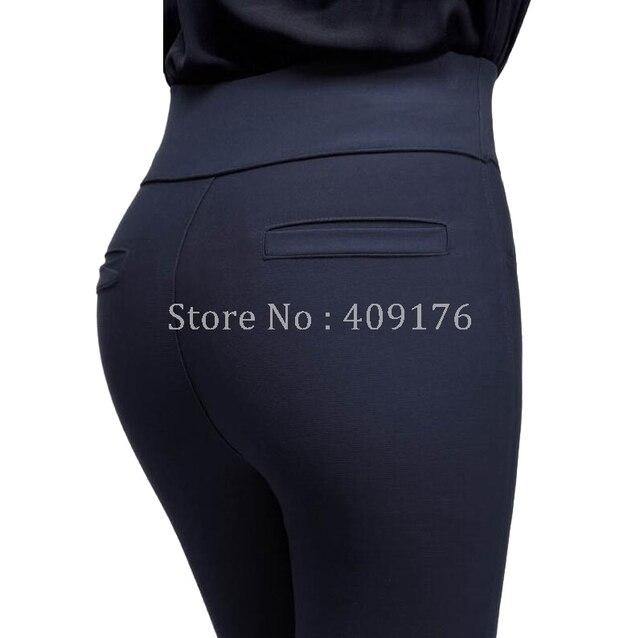 Leggings Pants 6XL Trousers Elastic Waist Pencil Pants Plus Women High Quality Thigh Trimmer Lady High Waist Daily Wear 400g 2