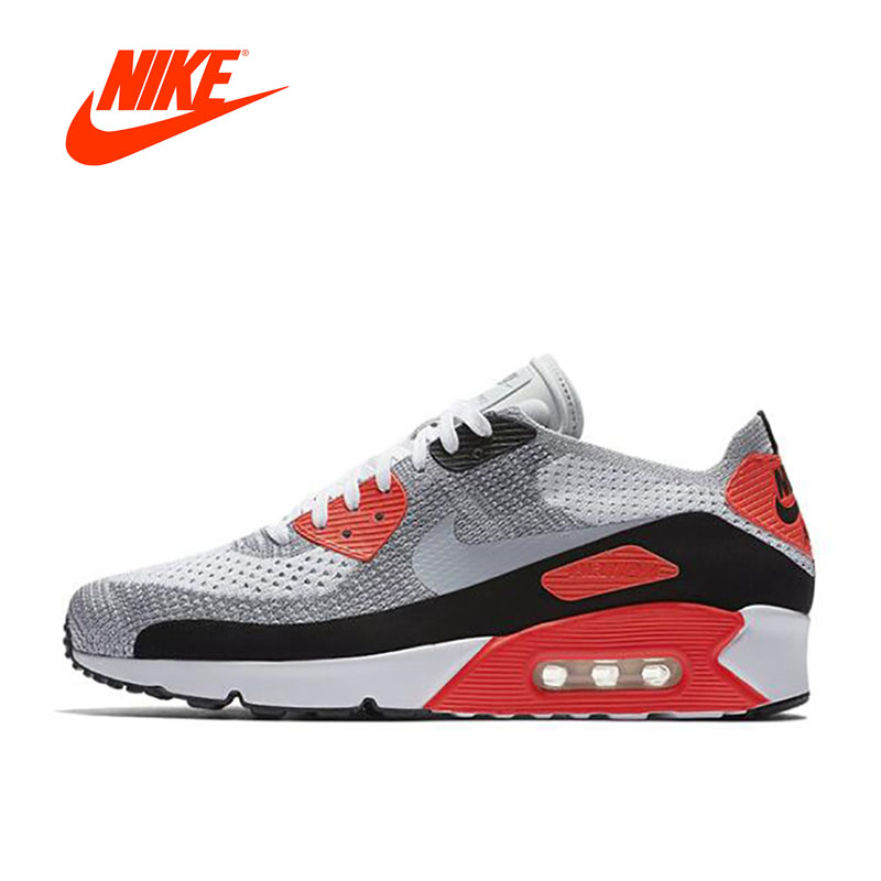Original New Arrival Official Nike AIR MAX 90 Ultra 2.0 FK Men's Breathable Running Shoes Sports Sneakers fk sports si 101d