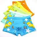 Boys Underwear 10pcs/lot Children Soft Underwear Baby Cartoon Modal Boy Boxers Panties Shorts Boxer Clothing