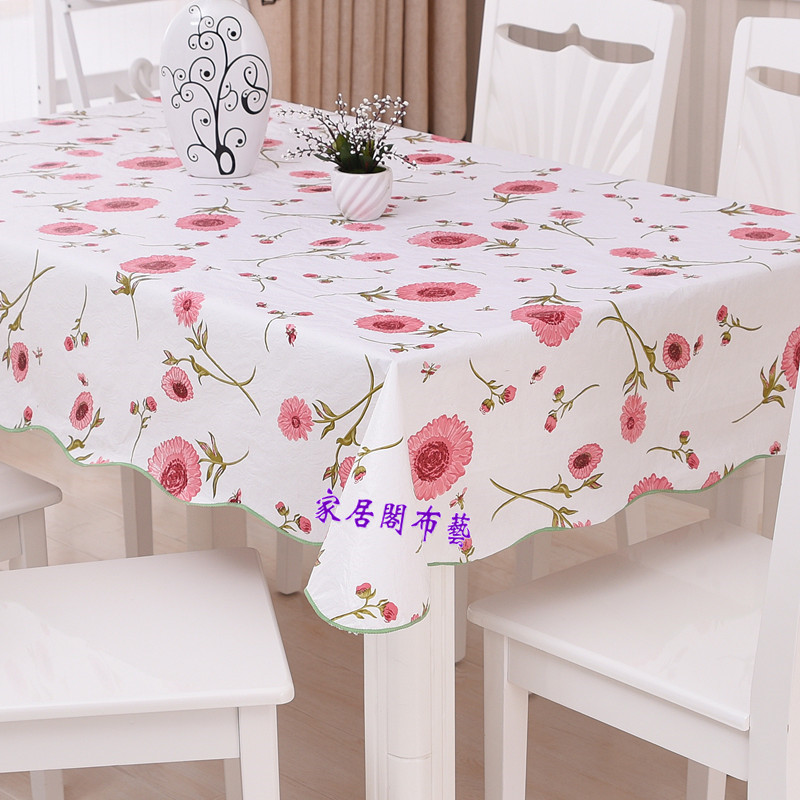 Exceptionnel Waterproof U0026 Oilproof Wipe Clean PVC Vinyl Tablecloth Dining Kitchen Table  Cover Protector OILCLOTH FABRIC COVERING In Tablecloths From Home U0026 Garden  On ...