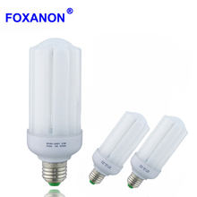 Foxanon AC85-265V E27 E14 LED Lamp LED Bulb Corn High Power Lampada 5W 10W 15W 20W 30W SMD2835 Bombillas Light Ampoule Lighting(China)