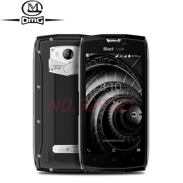 """Оригинал Blackview bv7000/bv7000 Pro IP68 Водонепроницаемый мобильного телефона mt6750t Octa Core 5.0 """"4 ГБ Оперативная память 64 ГБ встроенная память Android 6.0 4 г LTE"""