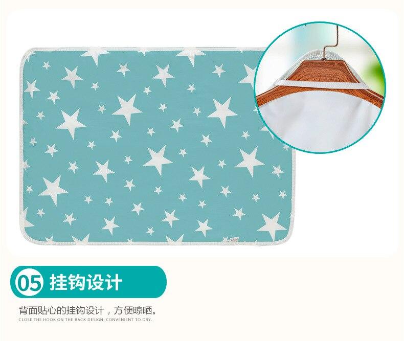 Пеленальный Коврик для младенцев, портативный складной моющийся Водонепроницаемый Матрас, коврик для путешествий, коврики, подушка, многоразовый матрас