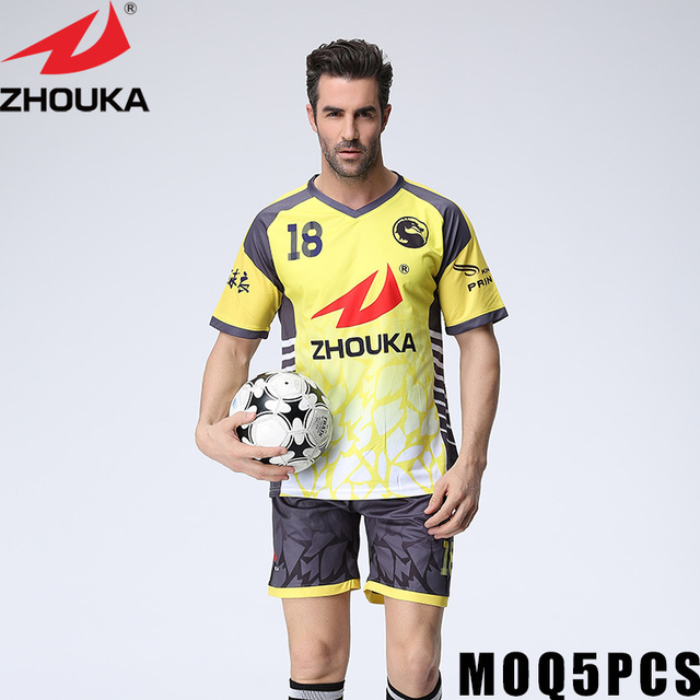 25fefc542 Make own soccer jersey create my own football jersey custom youth soccer  jerseys Jersey Soccer Football Kit Mens Sports Suits