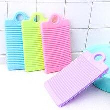 Пластиковая мочалка противоскользящая утолщенная доска для мытья одежды Очистка для белья LE66