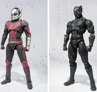 NEW Hot 17cm Avengers Ant Man Black Panther Movable Action Figure Toys Doll Collection Christmas Gift