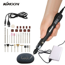 KKmoon 30W Mini Electric Grinder Drill Tool Engraving Pen Grinding Milling Polishing Tools(China)