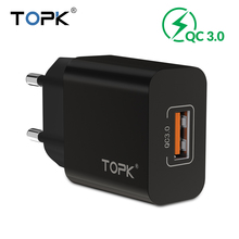 TOPK 18W Quick Charge 3.0 USB Charger USB Adapter Universal