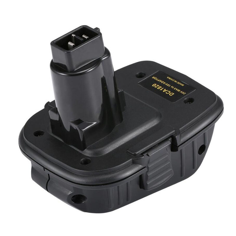 Dawupine DCA1820 Battery Adapter For Dewalt 18V Ni-cd Ni-mh Battery DC9096 Tools Compatible With 20V MAX Li-ion Battery DCB200