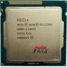 Processador intel, intel xeon E3-1220 v2 e3 1220v2 e3 1220 v2 processador central quad-core, 3.1 ghz 8m 69w lga 1155