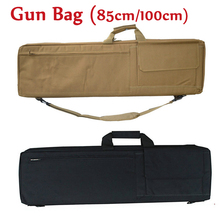 85cm / 100cm Outdoor Hunting Rifle Gun Carry Protection Shoulder Bag Tactical Airsoft Paintball Air Gun Military Backpack tactical hunting rifle gun heavy duty carry bag 1000d nylon paintball airsoft air gun shoulder backpack