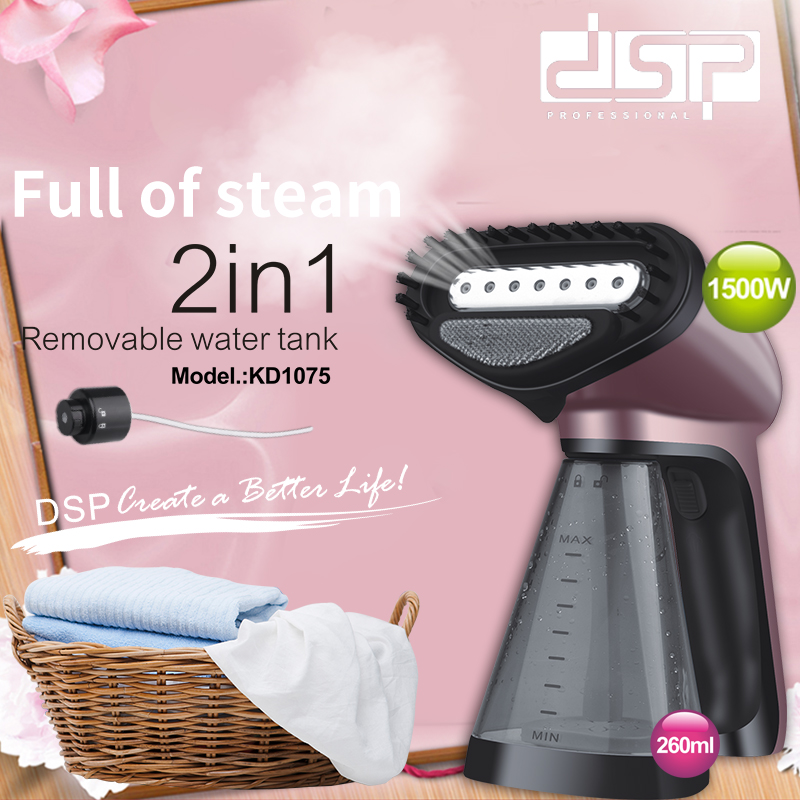 Mini Portable Travel Household Handheld Steamer Ironing Machine DSP Garment Steamer220V Home Appliances Handheld Steam Hanger