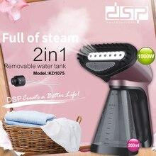 Mini przenośne podróży gospodarstwa domowego ręczny parowiec maszyna do prasowania DSP odzieży steamer220V urządzenia domowe ręczny wieszak parowy
