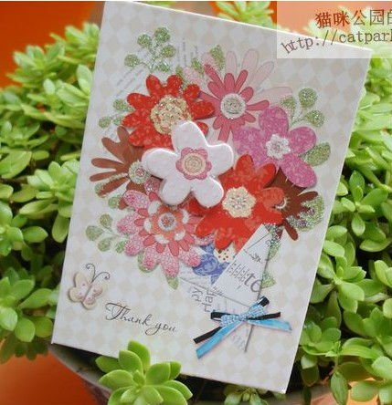 Flower 3d mothers day gift crad greeting birthday card with flower 3d mothers day gift crad greeting birthday card with envelope spring greeting cards wholesale m4hsunfo