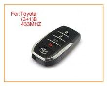 3 + 1 Кнопки Дистанционного Ключа Для Toyota 433 МГц Alarm Fob (Anatel: 2280-14-3559)