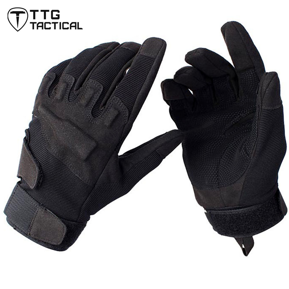 TTGTACTICAL Full Finger Tactical Gloves Military US Army Swat Gloves Camping Hiking Gloves Airsoft Paintball Shooting Gloves