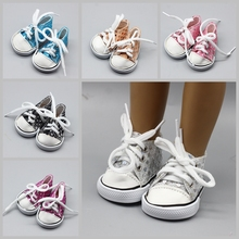 7cm 6Color Glitter Sequin Mini Doll Sneackers for 43CM Reborn New Baby Sport Shoes 18 inch Boots Accessories