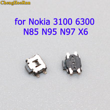 ChengHaoRan 10pcs Power On Off Switch / Volume Button Connector replacement parts For Nokia 3100 6300 N85 N95 N97 X6