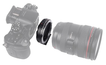 EF-M2 0.71X Reducer Speed Booster Adapter for Canon EF Lens to M4/3 Camera