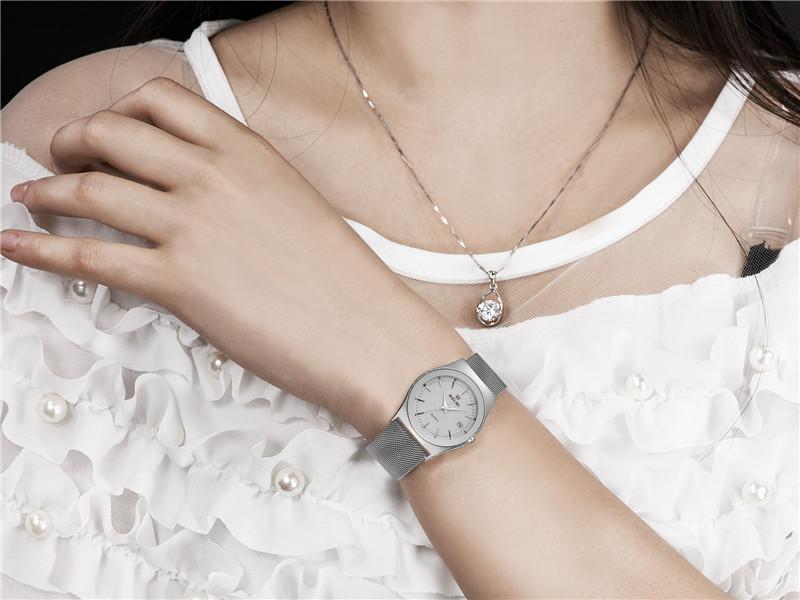 Relojes ultradelgado, mujer, Belbi 12